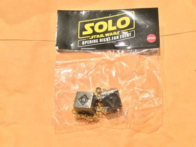 Just received in mail. SOLO A Star Wars Story Fan Event Dice :)