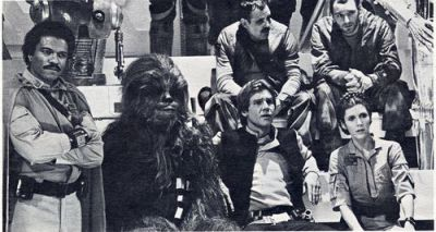 The look you give when you discover how you really got the name Solo.